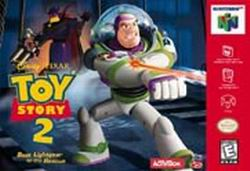 Toy Story 2 (USA) Box Scan